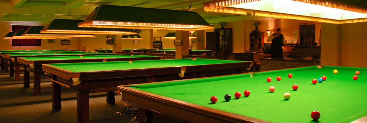 Dein Snooker, Dein Clubraum, Dein Verein...